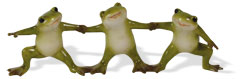 Frosch-Triole