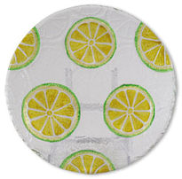 Glass serie fruits lemon