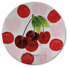 Glass serie fruits cherry